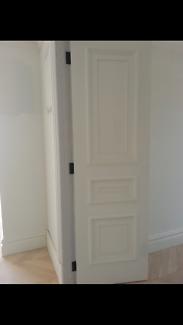 Solid Timber Pre Hinged French Moulded Internal Door
