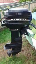 Mercury 35 HP outboard marine motor 35HP electric start Morisset Lake Macquarie Area Preview