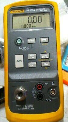 Fluke 717 100g Pressure Calibrator -12 To 100 Psi Free Shipping Unit3