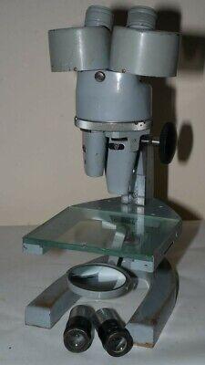 Vintage Spencer Microscope 1x 3x 6x - With 9x Eye Pieces