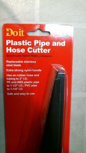 DoitBest 480630 Plastic Pipe and Hose Cutter, FREE SHIPPING