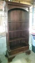 Solid timber art deco style bookcase with drawers Ipswich Ipswich City Preview