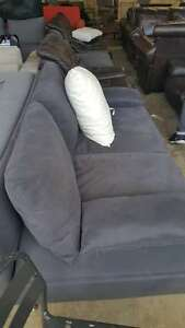 Fabric PU Leater Cheap 2/3 Seater Sofa Bed From $130 Clayton Monash Area Preview