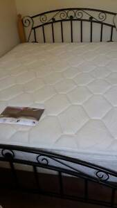 Queen Size Pillow Top Matress HARDLY USED with bed frame Plumpton Blacktown Area Preview