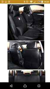 Black Leather Car Seat Covers Hyundai i30 ix35 Tucson Elantra Son Blackmans Bay Kingborough Area Preview