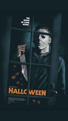 Gary Halloween (HALLOWEEN Gary Pullin Print Poster
