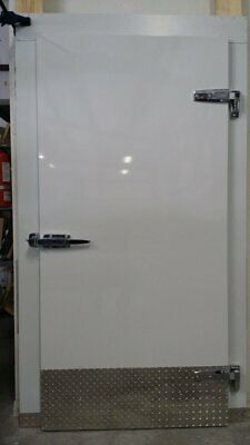New Walk In Cooler Replacement Door 42x 84 Prehung With Casing Left Hinges
