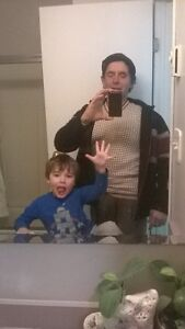 father and son 5yrs