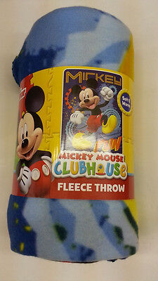Disney Mickey Mouse Clubhouse Kid 46  X 60  Fleece Throw Blanket Sleep L  K