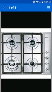 Smeg gas cooktop cir66xs3 Somerton Hume Area Preview