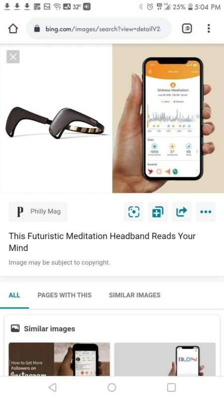 Brand New Muse 2: The Brain Sensing Headband Muse 2 Headband and case bundle