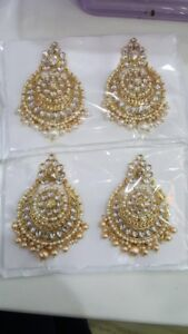 Indian ladies diwali garva Karwa Chauth jewellery choker earring