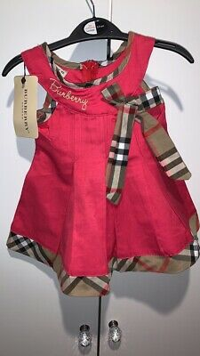 Girls Burberry Dress Age 2
