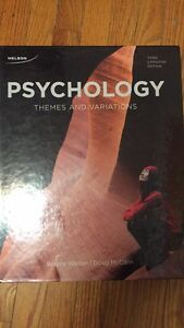 Psychology; Themes and Variations 3rd Ed. Peterborough Peterborough Area image 1