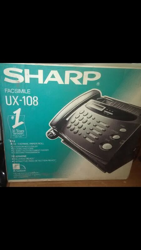 Sharp UX-108 Fax Machine New in the Box