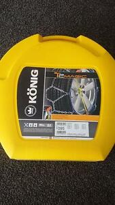 NEW! Konig T2 Magic 095 Snow Chains Jindabyne Snowy River Area Preview