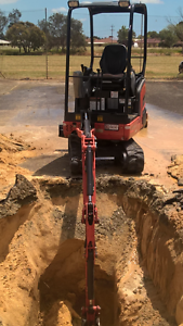 1.8 mini excavator hire Wanneroo Wanneroo Area Preview