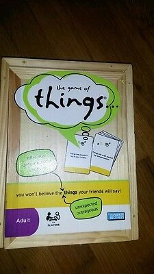 The game of things  Adult Hasbro games 4+ players family night fun times classic - Adult Game Night Games