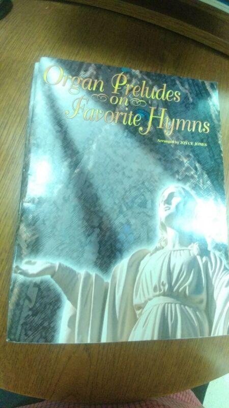 Joyce Jones: Organ Preludes on Favorite Hymns; organ (Warner Bros.)