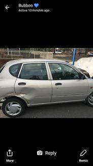 2003 Daihatsu Sirion Hatchback Dulwich Hill Marrickville Area Preview