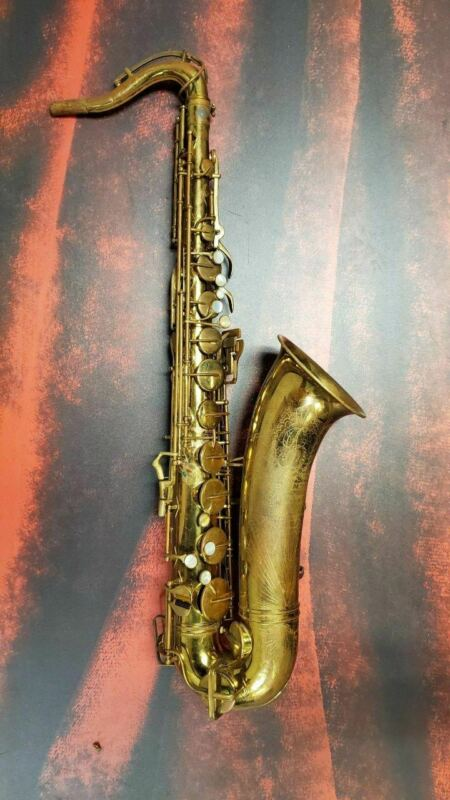 "Buescher ""Big B"" Aristocrat Tenor Saxophone with case"