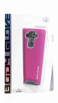 New OEM Body Glove Fusion Silk Pink/Gray Case For LG -