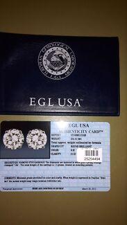 Diamond Earrings  Salisbury Downs Salisbury Area Preview