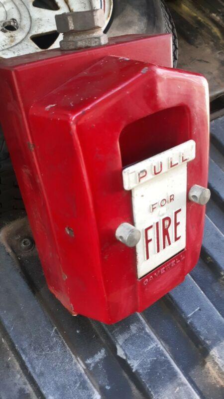 Fire alarm Telegraph Fire pull Box base Gamewell aluminum firealarm