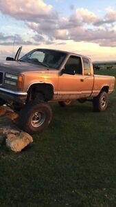 1997 GMC solid front axle