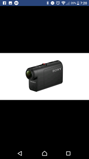 Sony action cam as50 with extras