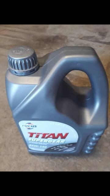 Fuchs gear oil 5L - BRAND NEW /
