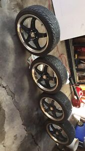 4x100 rims 17 inch Honda civic