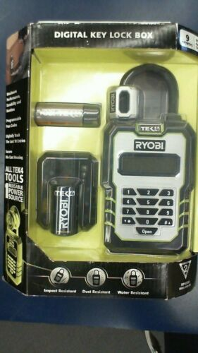 Ryobi TEK4 Digital Key Lock Box RP-4310 *Open Box New*
