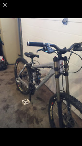 Banshee Chaparral Downhill bike