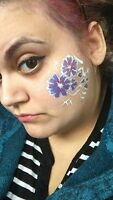 Face Painter and Henna Body Artist for events