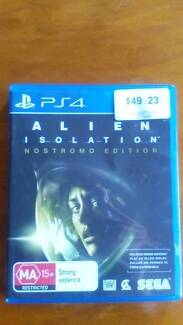 Alien Isolation Nostromo Edition Playstation 4 Ps4 Game