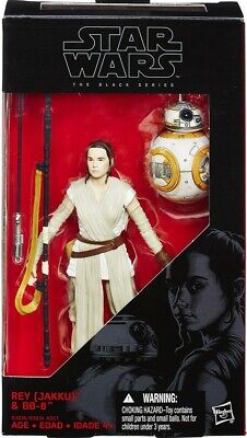 Star Wars 6 inch Black Series Rey & BB-8 The Force Awakens Figure New & MISB