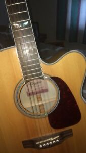 Takamine GJ72CE-NAT Cut away, Acoustic-Electric, Natural Gloss