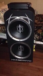 "12"" subs and amp"