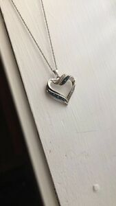 Beautiful heart necklace-great for Valentine's Day!