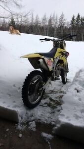 2007 rmz 250 has papers