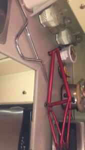Red united frame and fit Dugan bars