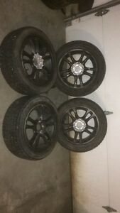 MICHELINE X-ICE winter tires with rims