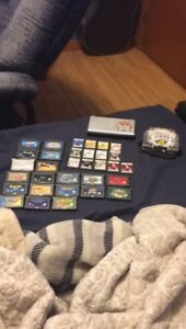Nintendo ds lite guitar hero edition with 32 games