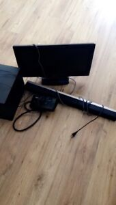 22 inch Philips led tv with Philips subwoofer and sound bar
