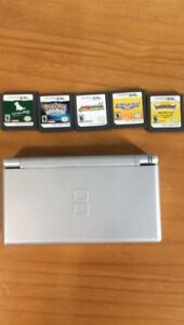 Nintendo DS with 5 games