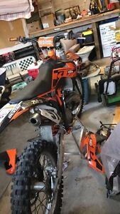 Clean 2013 sx250 low hours