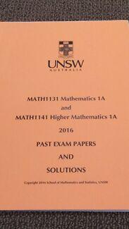 UNSW MATH1131 / MATH1141 - Calculus, Algebra, Past Exams, Maple notes