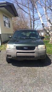 Ford Escape For Sale or Trade