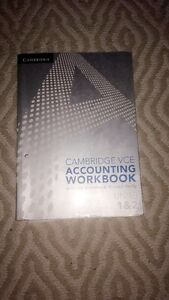 CAMBRIDGE VCE accounting work book units 1&3 Hampton East Bayside Area Preview